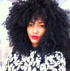 ❤Can't Wait until my hair gets this big!!️