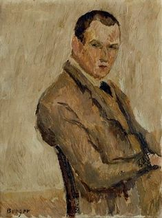 View Self-Portrait By Hans Berger; Oil on canvas; 32 x 24 cm; Access more artwork lots and estimated & realized auction prices on MutualArt. Oil On Canvas, Artwork, Painting, Design, Self Portraits, Work Of Art, Auguste Rodin Artwork, Painted Canvas, Painting Art