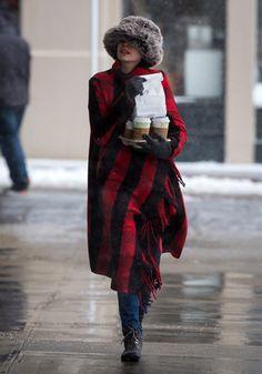 Anne Hathaway à New York, George Clooney à Berlin, Lana Del Rey à Liverpool... La semaine people en images
