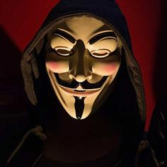 Anonymous Hacker Mask #Under-$50 #For-Men #Gifts-For_Geek-Gifts
