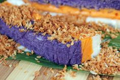Sapin-Sapin (Multi-colored Sweet Rice Cake)