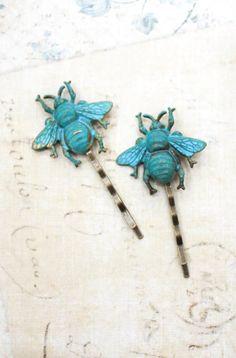 Bee Bobby Pins Bumblebee Hair Pins Honey Bees