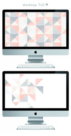 Hi friends! I'm just full of freebies at the moment! Here's this months downloadable wallpaper to spruce up your desktop. Enjoy these sugar coated geometrics by downloading them right here.
