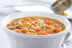 Indian-Spiced Carrot Soup