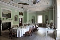 Dining Room at Saltram House - National Trust