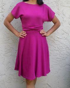 Irene dress pattern on Sew Mama Sew Dress Sewing Patterns, Sewing Patterns Free, Free Sewing, Clothing Patterns, Free Pattern, Simple Pattern, Purse Patterns, Pattern Dress, Pattern Print