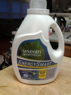 Here is my free Smiley360 Mission -  Seventh Generation Energy Smart Laundry Detergent!