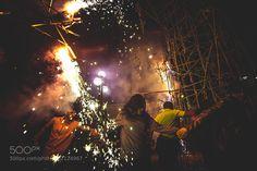 Burning the city by IgnacioVigo Journalism photography #InfluentialLime