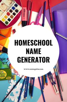 Homeschool Name Generator Trying to name your homeschool but stuck? Check out this awesome name generator just for homeschoolers! Creative Names, Unique Names, Cool Names, Awesome Names, School Name Generator, Online Name Generator, School Names Ideas, Home Schooling, Homeschool Curriculum