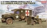 WWII US Ambulance & Towing Tractor Stuks