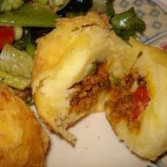 POTATO BALL or RELLENO de PAPA Recipe | Just A Pinch Recipes
