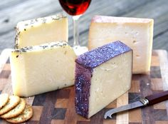 A collection of Sartori Bellavitano Asiago cheeses.