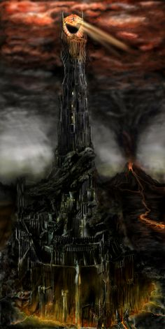Tower of Barad Dur by Marko1991 on deviantART