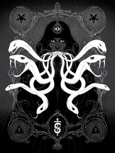 Cool Art: Secret Panel presents 'Revival' prints by Jenny Frison, Angela An & Randy Ortiz Hack And Slash, Black And White Posters, Black Art, Mystic Moon, Dark Artwork, Dark Ages, Gothic Art, Deviantart, Cover