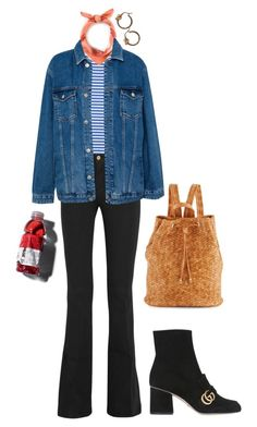"""toujours"" by yvessaintamsterdam ❤ liked on Polyvore featuring M.i.h Jeans, Frame, Neiman Marcus, Hermès, Pull&Bear and Gucci"