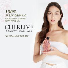 Natural Showers, Rose Oil, Shower Gel, Jasmine, The Secret, Organic, Beauty, Cosmetology