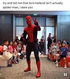 The best live-action Spiderman actor // - Avengers Endgame Avengers Humor, Marvel Jokes, Funny Marvel Memes, Marvel Dc Comics, Hero Marvel, Marvel Avengers, Ms Marvel, Captain Marvel, Spiderman Actor