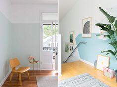 La técnica del half painted o, lo que es lo mismo, pintar a medias | Mi casa no es de muñecas | Blog y asesoría online en decoración e interiorismo