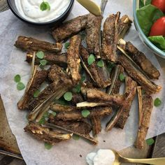 Oven baked lamb ribs - A few simple ingredients, roasted in the oven, simple easy lick you fingers lamb