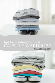 Tips for creating your first capsule wardrobe. With printable check-list for a fall 2015 capsule wardrobe.