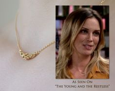 Gold Chain Necklace, Gold Filled Elegant Byzantine Chainmaille Jewelry, simple short necklace for women As Seen On TV The Young and Restless by Femailler on Etsy https://www.etsy.com/ca/listing/189594592/gold-chain-necklace-gold-filled-elegant
