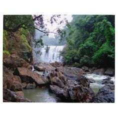 Sathodi falls kali river India. Jigsaw Puzzle