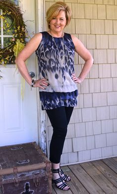 50 IS NOT OLD | MEMORIAL DAY SALES | Tunic + Ankle Pants | Fashion over 40 for the everyday woman
