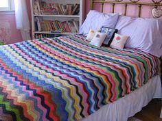 crochet bedspread...