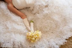 buttercup yellow and frothy ruffles!