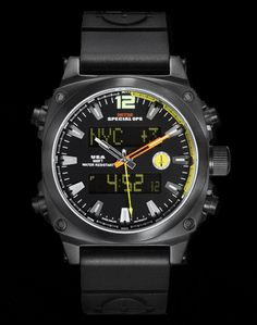 Black Air Stryk Watch by MTM Special Ops