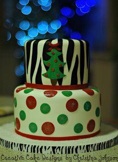 Funky Christmas by Christina's Dessertery, via Flickr