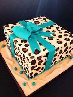 Pastel AnimalPrint Leopardo