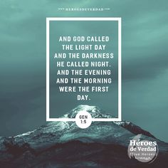 And God called the light day. #bible #verse #lightday #faith #God #future #motivation #inspiration #trueheroes