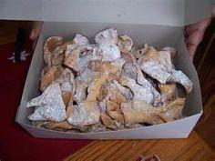chrysciki cookies : my polish grandma use to make them every Christmas