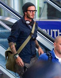 Guy style David Beckham
