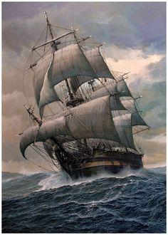 Folkrad probeert een schip te vinden zodat hij terug naar zijn land gaat.
