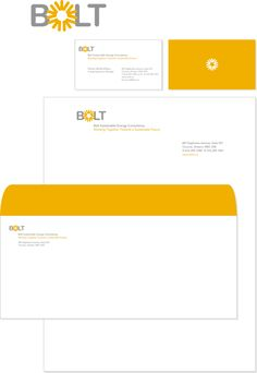 Bolt Sustainable Energy Consultancy by Amy Cheung, via Behance