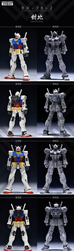 (ID_008)1/100 MG Gundam RX-78 -02 conversion kit (Preorder$84) GK,CAST,MODEL