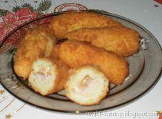 Moje pyszne, łatwe i sprawdzone przepisy :-) : ziemniaczane krokiety z szynką i serem-pyszne,chru...