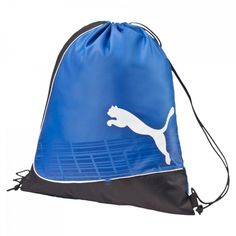 ac1341386a modeherz ♥ PUMA evoPOWER Gym Sack Team Power Blue-Black-White ♥ 073885 02
