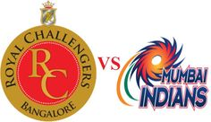 Royal-challengers-Bangalore-VS-Mumbai-Indians-Logo-2013