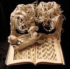 Jodi Harvey-Brown: imaginative-creative-paper-art-book-sculptures-artwork (2)