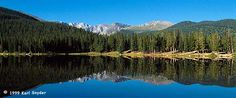 MountEvans.com  Echo Lake is at the base of the Mount Evans experience.  It's a beautiful site to start your adventure but as you go up the mountain you will experience even more beauty!  It's the highest paved automobile road in America and a must see!!!