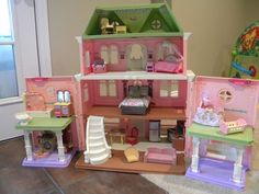 Huge Lot Fisher Price Loving Family Grand Dollhouse Accessories Furniture in Toys & Hobbies, Preschool Toys & Pretend Play, Fisher-Price | eBay