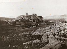 STILLMAN, William James Ἡ Ἀκρόπολη ἀπό τά νοτιοδυτικά. [1869]. Ἀνθρακοτυπία (carbon print).