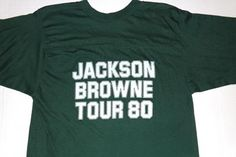 Vintage 1980 Jackson Browne Hold Out Baseball by FatandyzVintage