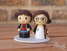 Gorgeous Geeky Cake Toppers - Spiderman and Harry Potter Wedding Cake Topper - Genefy Playground