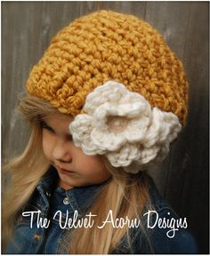 CROCHET PATTERN  Cornyll Slouchy Toddler Child door Thevelvetacorn, $5.50