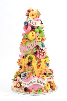 Love Is All You Need Crazy Cake @Alax Garner Garner Garner Garner Garner Garner Traylor - amazing but not a chance in hell!
