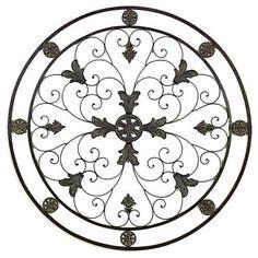 Energy Circle Metal Wall Art Decor Sculpture 36